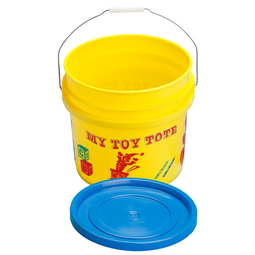 Argee Corporation Portable Toy Tote and Lid