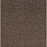 DE MU35BR Carpeted Entrance Mat, Brown, 3 x 5 ft.