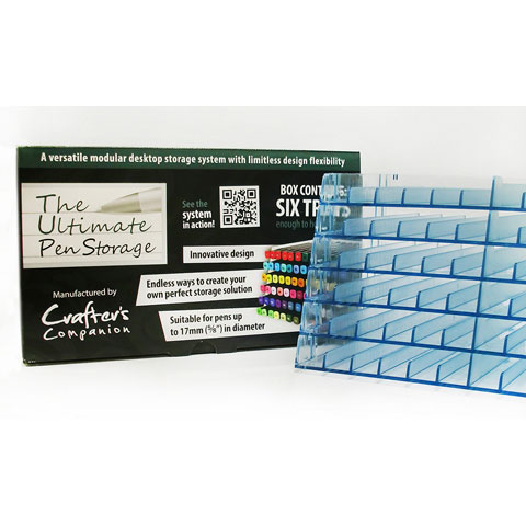 Ultimate Pen Storage Trays 6Pk Hold 72 Total Pens Markers
