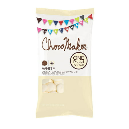 Chocomaker Vanilla Flavored Candy (Chocolate Flavor Melting Wafers)