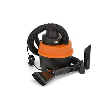 - Car Vacuum Cleaner | Wet Dry Vacuum | 84W 12V Portable Handheld Auto Vacuum Cleaner | Vac Air Inflator