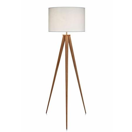 Versanora - Romanza Tripod Floor Lamp With White Shade
