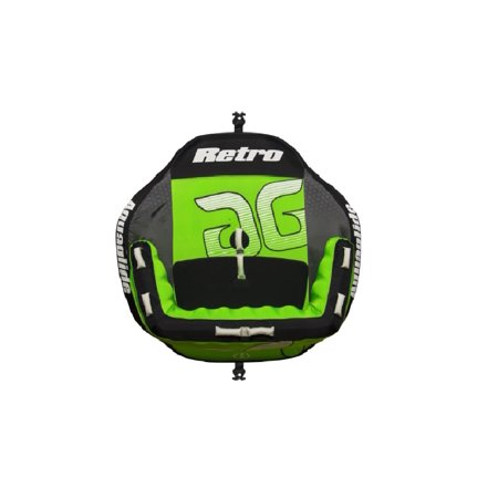 Aquaglide 58-5216617 Retro 2 Green 2-Person Inflatable Towable Tube