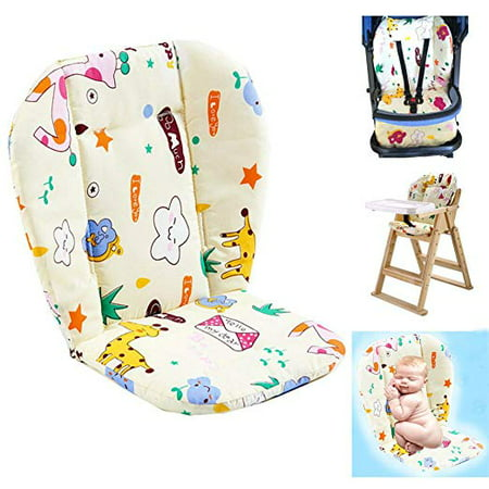 Baby Stroller/Highchair/Car Seat Cushion Protective Film Breathable Waterproof high chair pad (Star pattern)