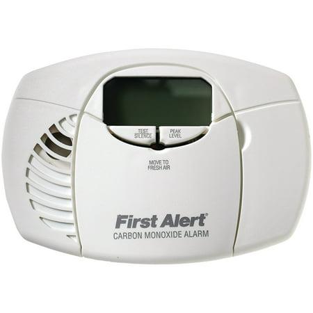 First Alert Audible Carbon Monoxide Detector - First Alert CO410 Battery-Powered Carbon Monoxide Alarm (Digital Display)