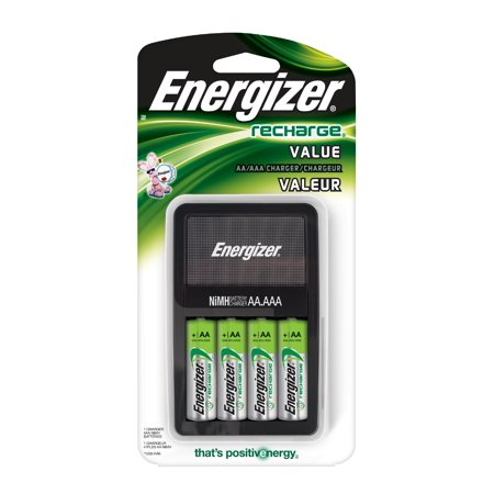 Energizer Aa Aaa Value Charger With 4 Aa Nimh Batteries
