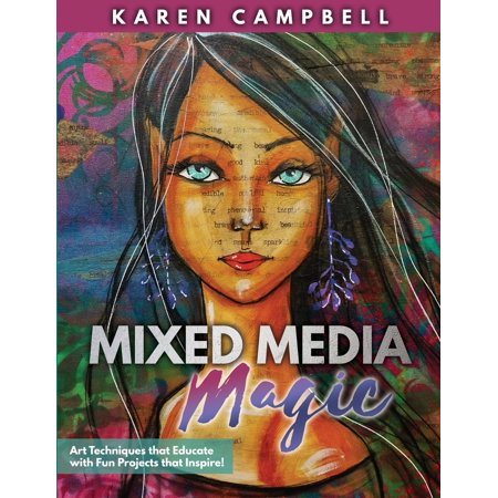 Mixed Media Magic: Art Techniques That Educate with Fun Projects That Inspire! (Paperback)](Halloween Mixed Media Projects)