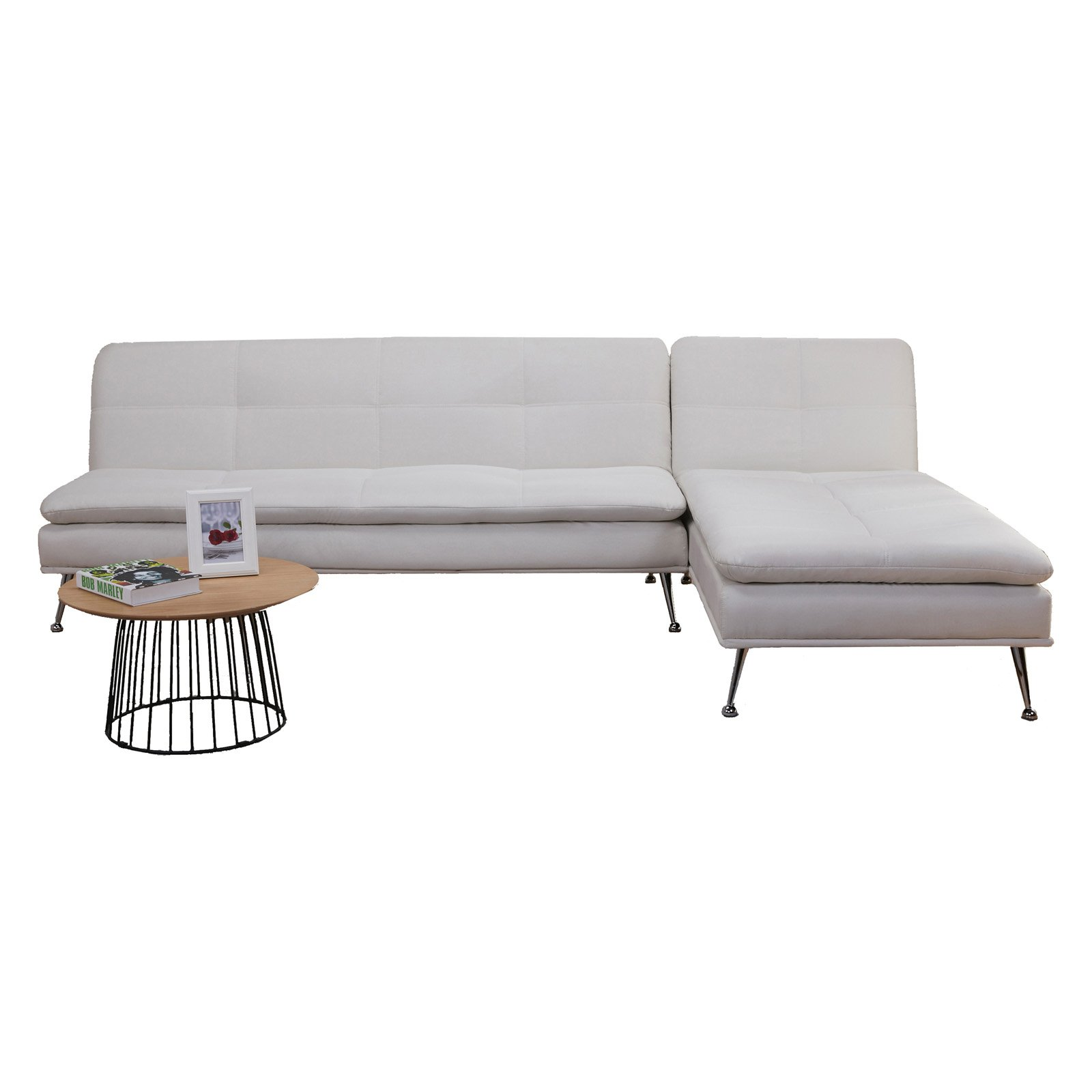Gold Sparrow Palmdale Convertible Sectional Sofa Bed   Walmart.com