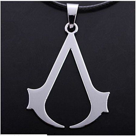 Assassin's Creed Logo Badge Cosplay Desmond Miles Alloy Pandant Necklace