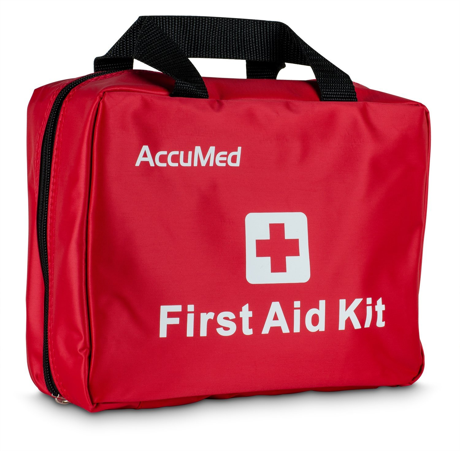 AccuMed Complete First Aid Kit 85-Piece Kit w  23 Unique Items Perfect for Camping, Hiking, and all Outdoor Adventures! by Amcrest