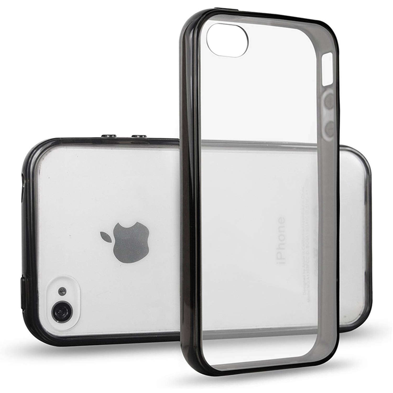 cheap for discount 2d3b5 1a39b JETech Apple iPhone 4/4S Case with Shock-Absorption Bumper and Anti ...