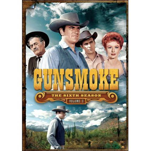 GUNSMOKE-SEASON 6 V02 (DVD) (3DISCS)