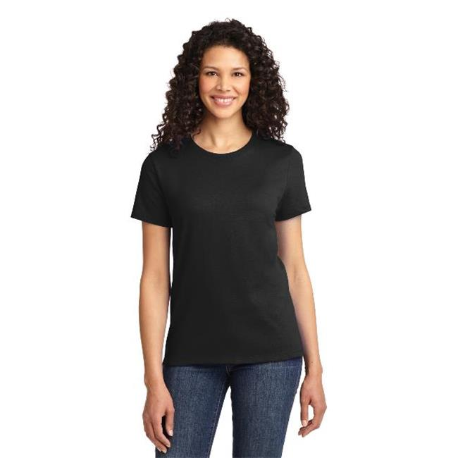 Port & Company® - Ladies Essential Tee. Lpc61 Jet Black 4Xl - image 1 of 1