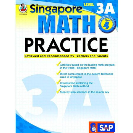 Frank Schaffer Singapore Math Practice Supplemental Workbook, Multiple Levels Frank Schaffer Reading