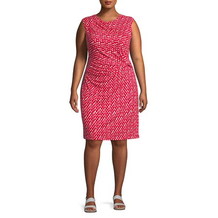 Plus Two to Tango Ruched Dress