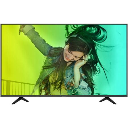 """Sharp LC-50N6000U 49.5"""" 4K Ultra HD 2160p 60Hz LED Smart HDTV (4K x 2K) by"""