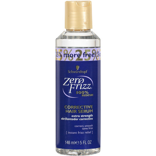Zero Frizz 100% Rescue Corrective Hair Serum, 5 oz