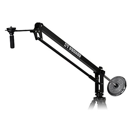 Fotodiox DV Rocker Jib Arm - 4.25 ft (51 in) Camera Crane with Included 5kg Counterweight and Carrying Bag