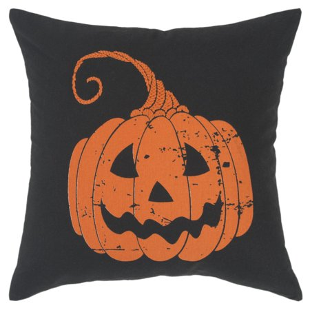 Rizzy Home Decorative Poly Filled Throw Pillow Pumpkin 20