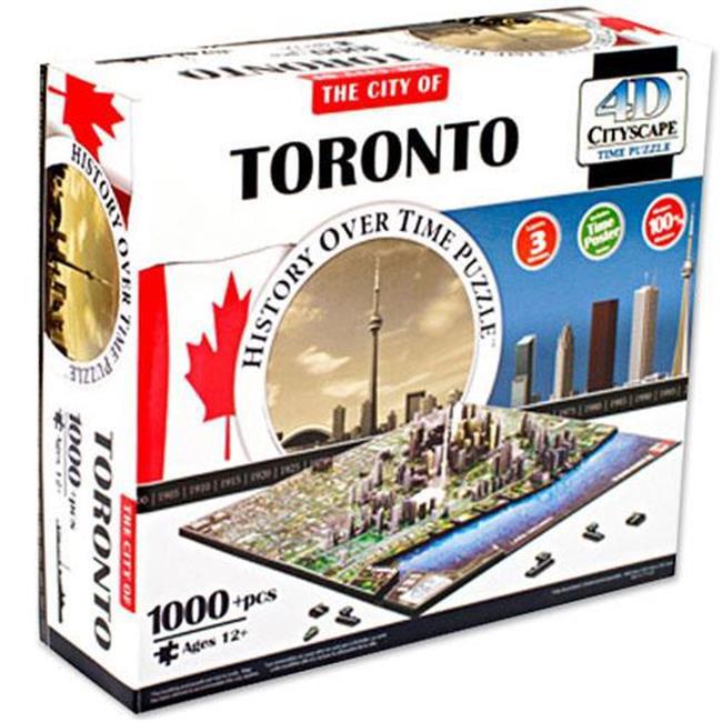 4d Cityscape TCYS-11 4D Toronto, Canada Cityscape Time Puzzle