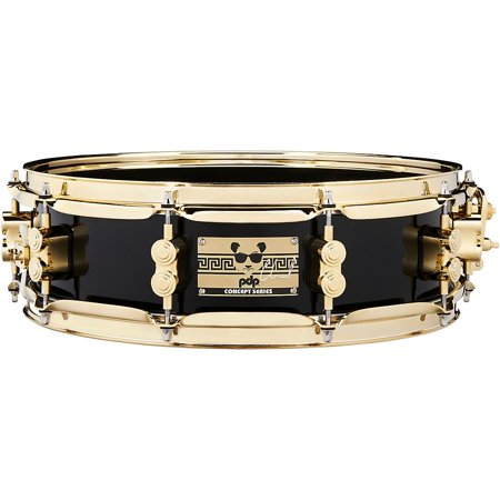 PDP by DW Eric Hernandez Signature Maple Snare Drum 14 x 4 in. Black (Dw 14x8 Snare Drum)