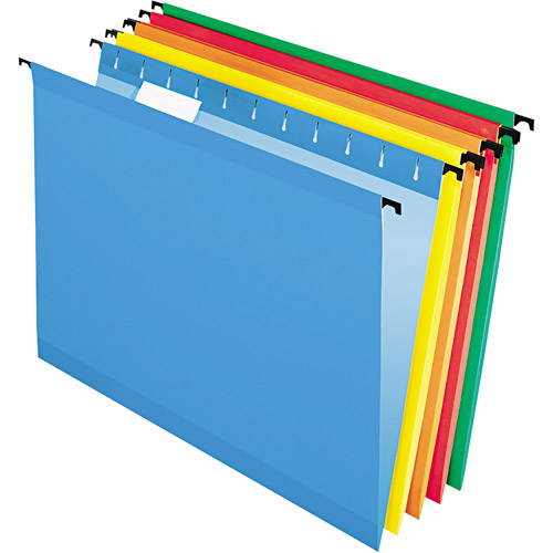 Pendaflex SureHook - Hanging File Folders, Letter, Assorted - 20/Box