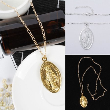 - Pendant Believers Jewelry Religious Accessories Necklace Virgin Mary Necklace