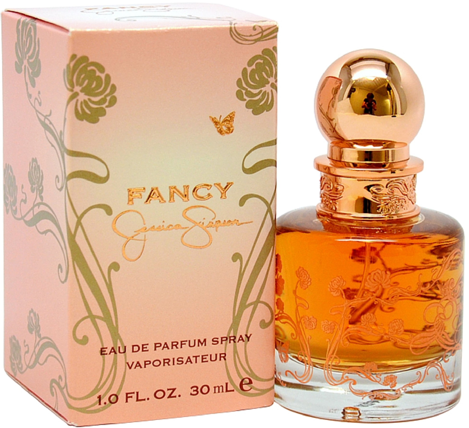 Jessica Simpson Fancy Eau De Parfum Spray 1 oz (Pack of 2)