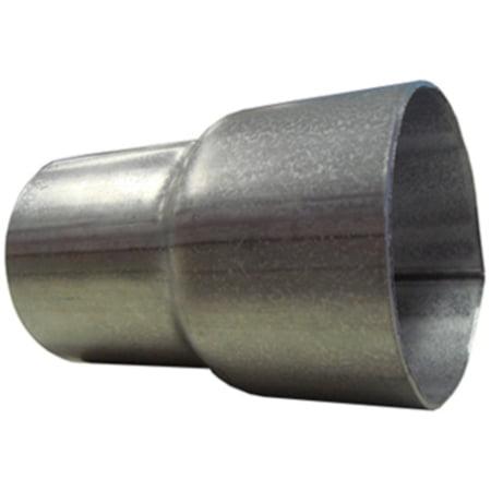 "Universal Stamp X-pipe 3/""ID Aluminized steel"