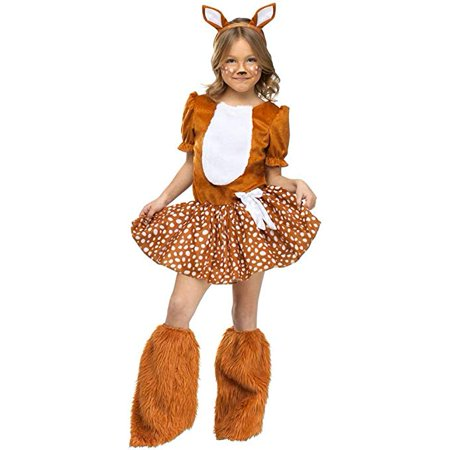 Oh Deer Dress and Headband Only Child Halloween Costume - Metal Head Halloween Costume