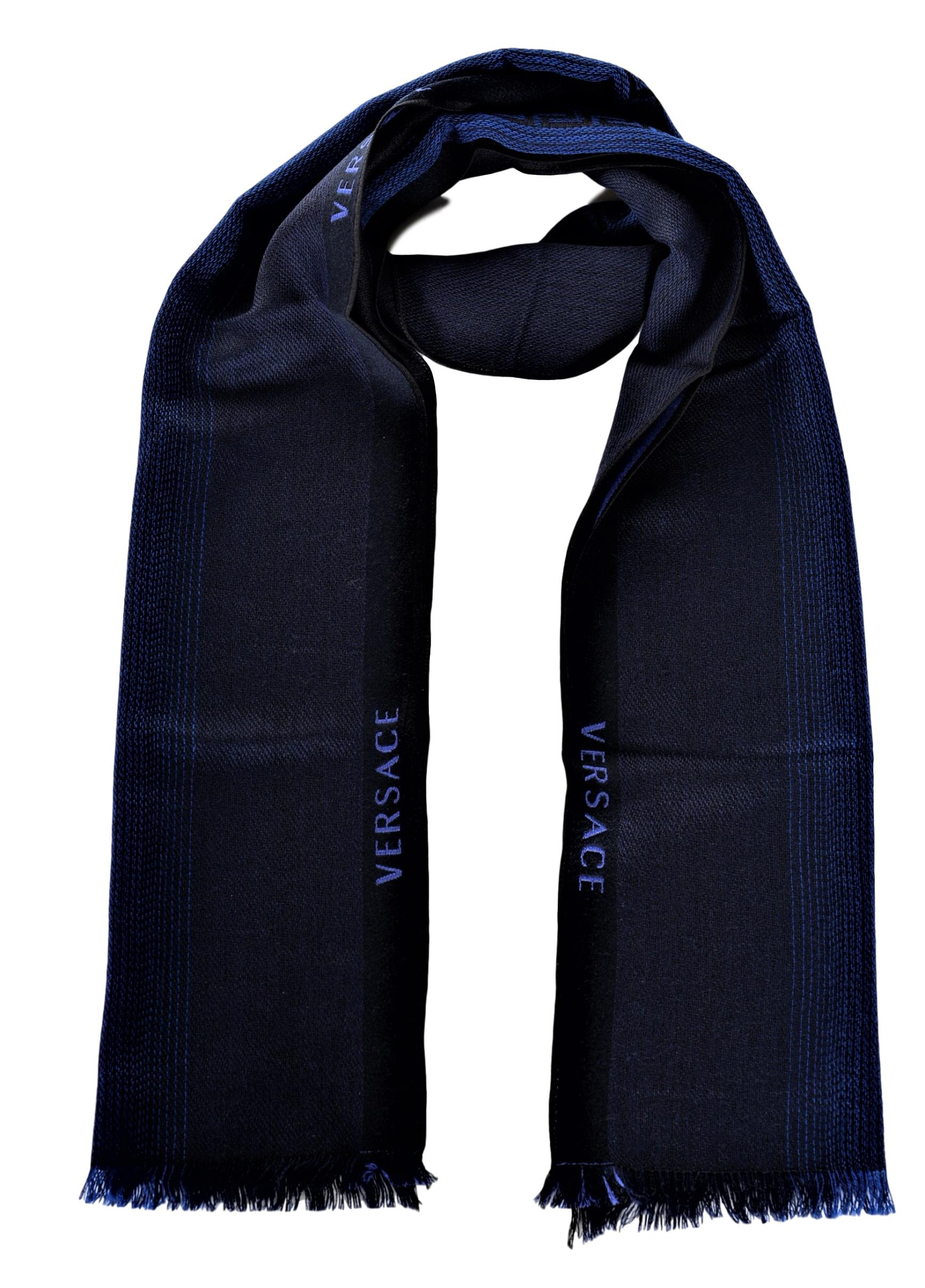 VERSACE Large//Long Medusa Wool Scarf New MADE IN ITAL
