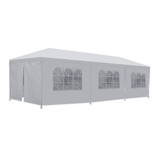 Freeport Park Alvin 10 Ft W X 30 Ft D Steel Party Tent Walmart Com Walmart Com