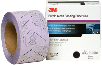 50 Discs Per Box 3m 3M-30461 Purple Clean Sanding Hookit Disc 5 In P600