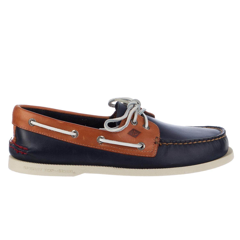 Sperry Top-Sider 0191486 : Men's Original 2 Eye Black Amaretto Boat Shoe (11 D(M) US Men, Black Amaretto) by Sperry Top-Sider Footwear Mens