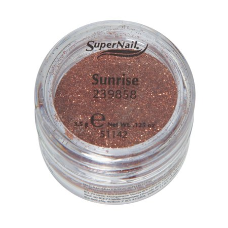 Supernail Glitter Sunrise (Copper Glitter) 0.125oz 3.5g - Copper Glitter