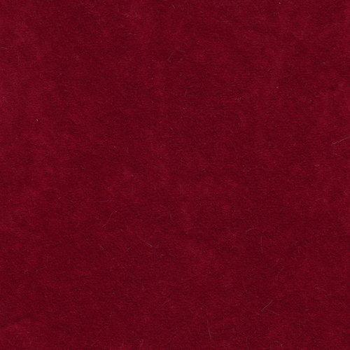 Alova Suede Fabric, Burgandy
