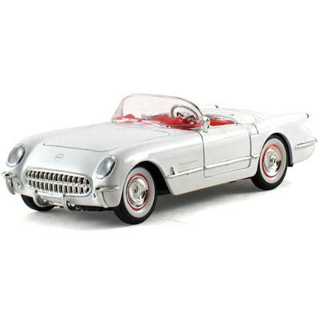 1953 Chevy Corvette Convertible, White - Signature Models 32429 - 1/32 Scale Diecast Model Toy Car