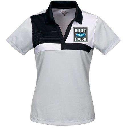 2dc5f383 Buy Cool Shirts - Womens Built Ford Tough Premium Polo Shirt - Grey/Black,  3XL - Walmart.com