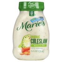 Marie's Original Coleslaw Dressing 25 fl oz Jar