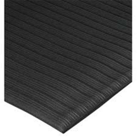 Anti-Fatigue Mat- Vinyl Foam- Beveled Edge- 3ft.x5ft.- Black - image 1 de 1
