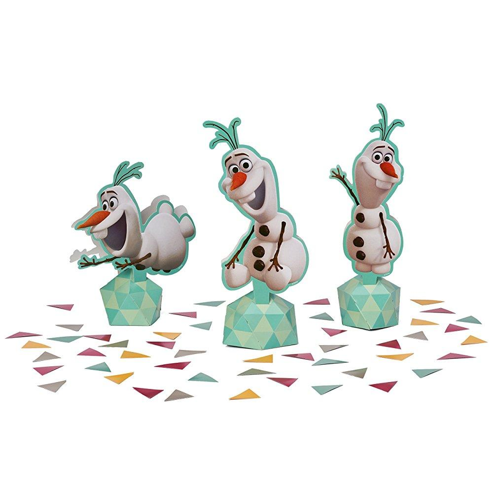 american greetings olaf table decorations party supplies