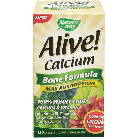 Nature S Way Alive Calcium Bone Formula