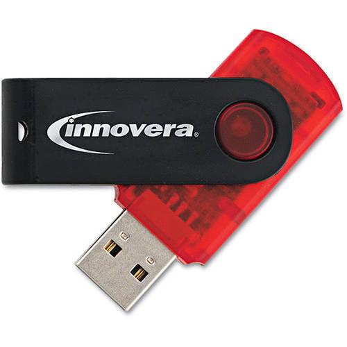 Innovera Portable USB 2.0 Flash Drive, 2 GB