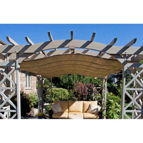 Yardistry 12 x 14 ft. Retractable Sunshade - YM11691
