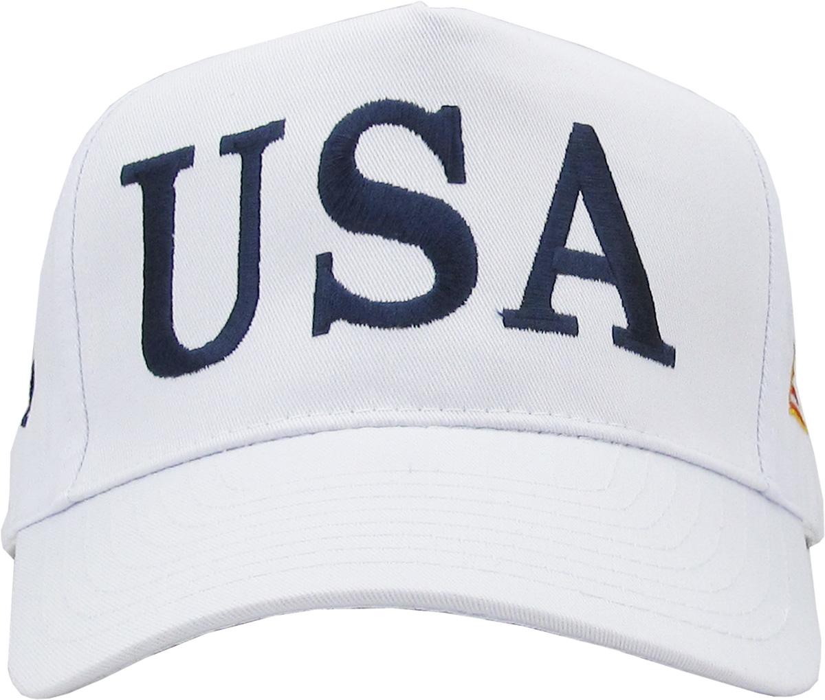 25b9e5fd2a6 USA TRUMP HAT - 45TH PRESIDENT - MAKE AMERICA GREAT AGAIN - Walmart.com