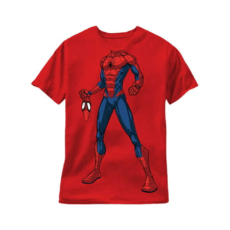 Short Sleeve Spiderman Costume Tee Shirt (Little Boys)