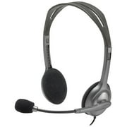 Logitech H111 Stereo Headset with Noise-Canceling Mic