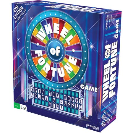 Pressman Toy Wheel Of Fortune Game