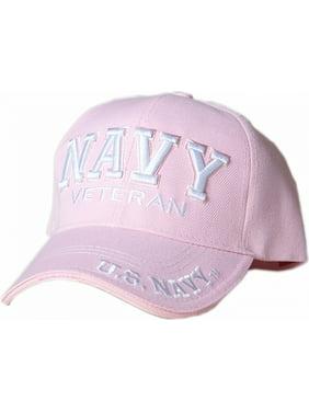 44d89d8d374 Product Image US Honor U.S. Navy Veteran Text Shadow Mens Cap  Navy Blue -  Adjustable