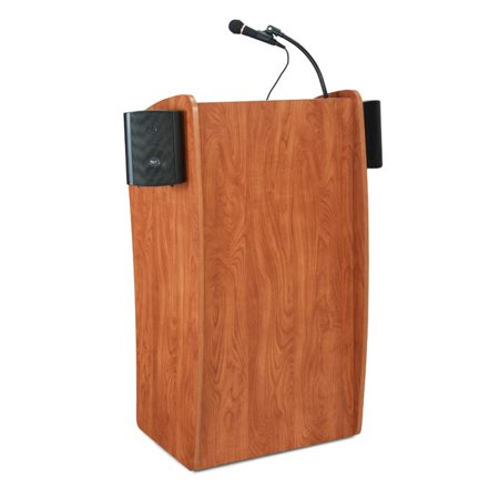 Oklahoma Sound Corporation The Vision Floor Lectern with Sound by